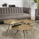 Wood Slice 3 Piece Coffee Table Set by Eichholtz