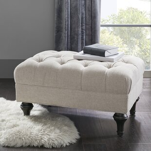 Best Price Chambor Tufted Ottoman By Madison Park Signature