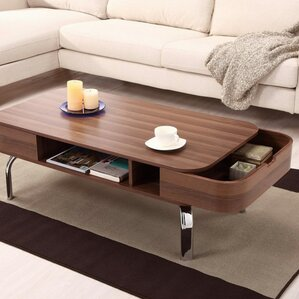 living room table with storage. Perla Coffee Table with Storage Mid Century Modern Tables You ll Love  Wayfair