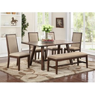 Chandeleur 6 Piece Dining Set DarHome Co