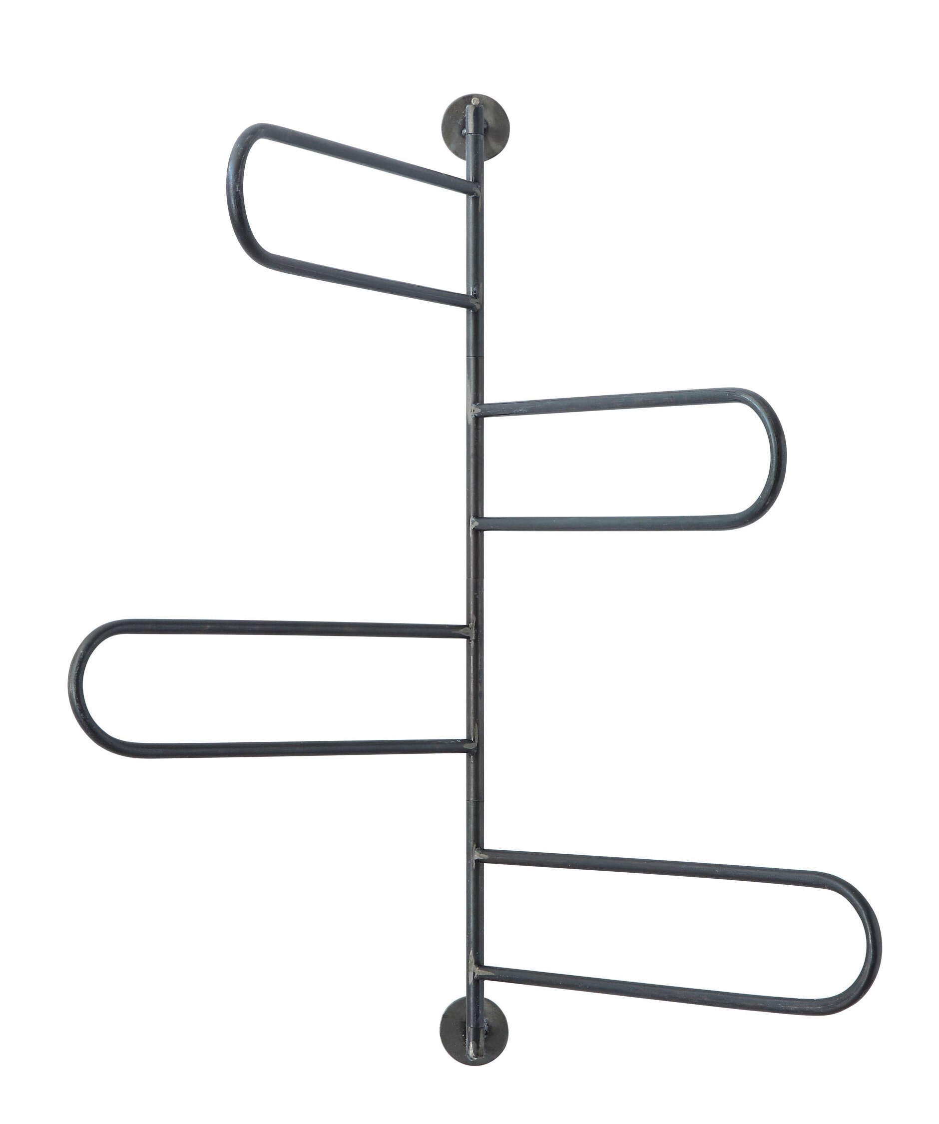 Creative Co Op Metal Swivel 14 5 Wall Mounted Towel Rack Reviews Wayfair