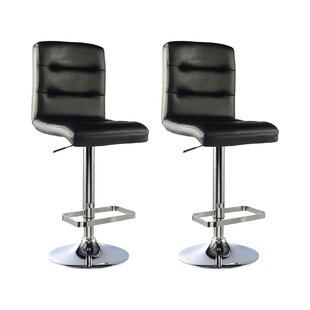 Height Adjustable Bar Stool (Set Of 2) By Metro Lane