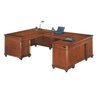 Red Barrel Studio Buckeye U-Shape Executive Desk