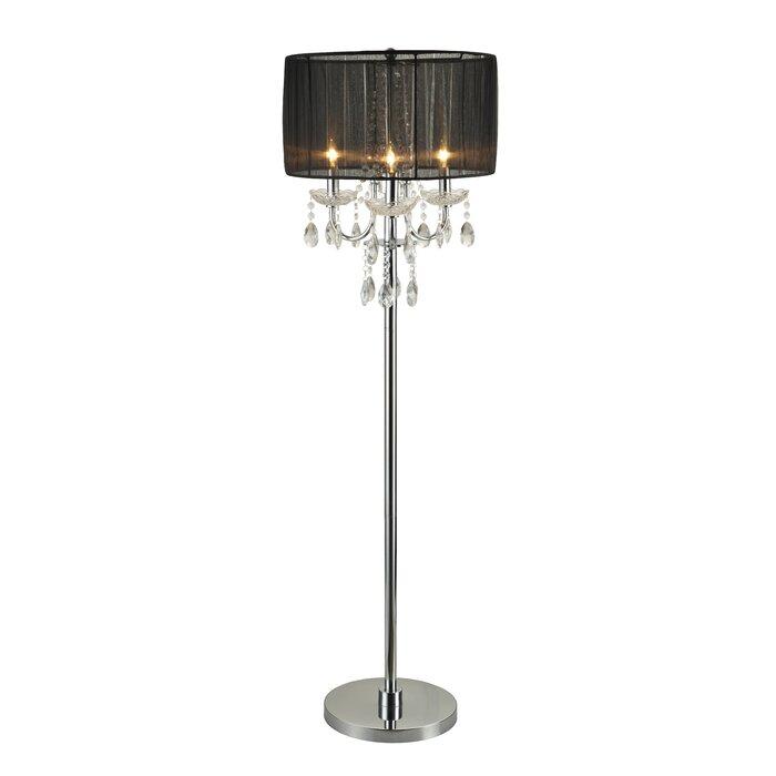 Villard Chandelier 62 Candelabra Floor Lamp