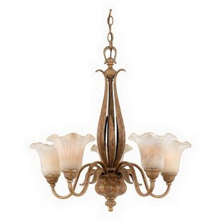 Mayra 5-Light Shaded Chandelier by Bay Isle Home
