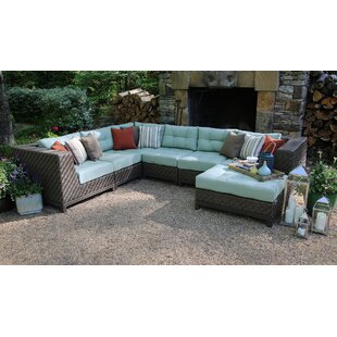 Mercury Row Bezanson 7 Piece Sectional with Cushions