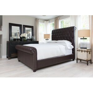 Watkins Bonded California King Upholstered Bed by Darby Home Co
