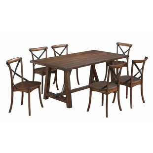 Aguon 7 Piece Dining Set Three Posts
