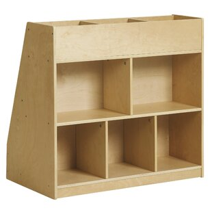 Affordable 8 Compartment Book Display By ECR4kids