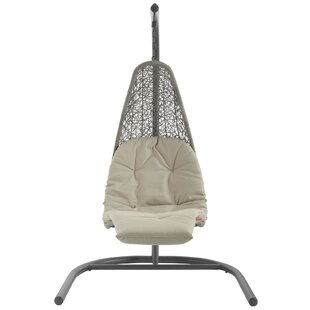 Colebrook Outdoor Hanging Chaise Lounge with Stand