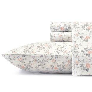 Rosalie Flannel Sheet Set by Laura Ashley Home by Laura Ashley