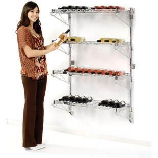 52 Bottle Wall Mounted Wine Rack