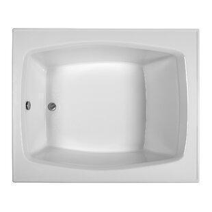 Reliance 59.25 inch  x 47.5 inch  Soaking Bathtub