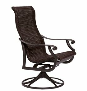 Montreux Swivel Patio Dining Chair