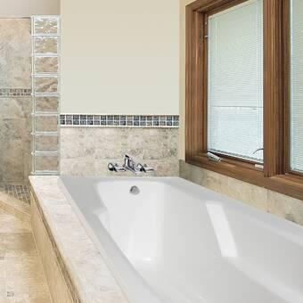 Americh Brisa Luxury Series 66 X 44 Drop In Whirlpool Bathtub Wayfair