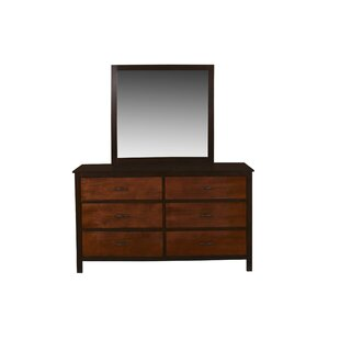 Bynum 6 Drawers Double Dresser