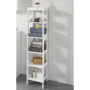 Jewett 30cm X 139cm Free-Standing Bathroom Shelves By Brambly Cottage