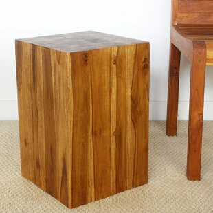 Buy luxury Lawless Block End Table by Union Rustic