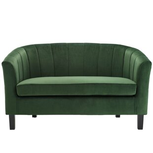 Wilbur Channel Loveseat
