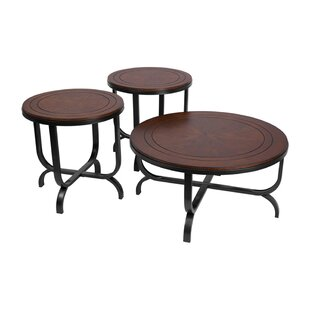 Ritz 3 Piece Coffee Table Set (Set of 3)