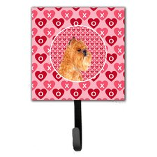 Brussels Griffon Leash Holder and Wall Hook by Caroline's Treasures