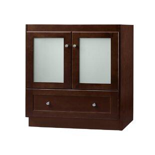Shaker Cabinet 30 Single Bathroom Vanity Base by Ronbow