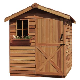 Gardener Solid Wood Storage Shed By Cedarshed