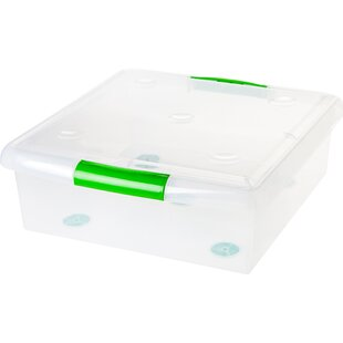 Shop For Store and Slide 25 qt Storage Box By IRIS USA, Inc.