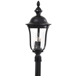 Latitude Run Traditional Outdoor 3-Light Lantern Head
