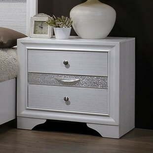 Embree 3 Drawer Nightstand