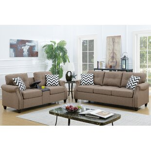 Warrick 2 Piece Living Room Set by Charlton Home