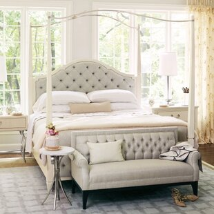 Bernhardt Savoy Place Poster Upholstered Panel Bed