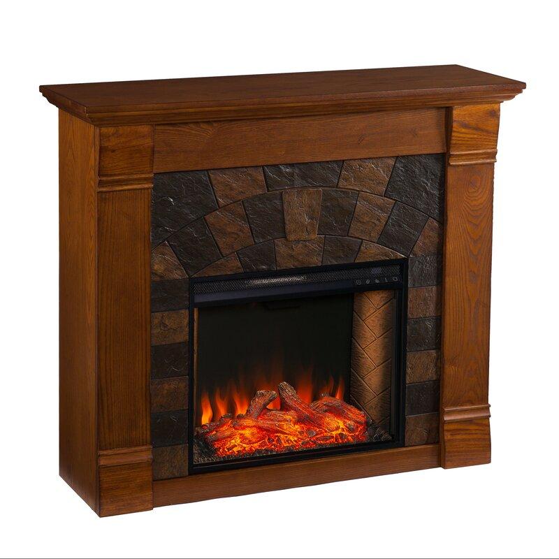 Latitude Run Elkmont Alexa Enabled Fireplace