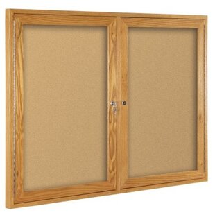 Enclosed Bulletin Board, 3' H x 4' W by Best-Rite?