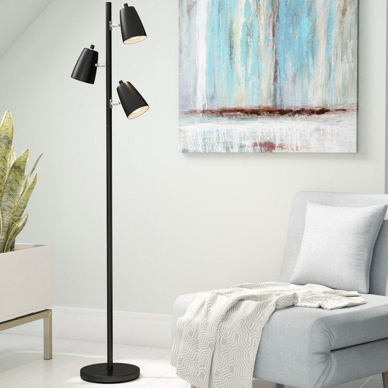 """Eckles 10"""" Tree Floor Lamp"""