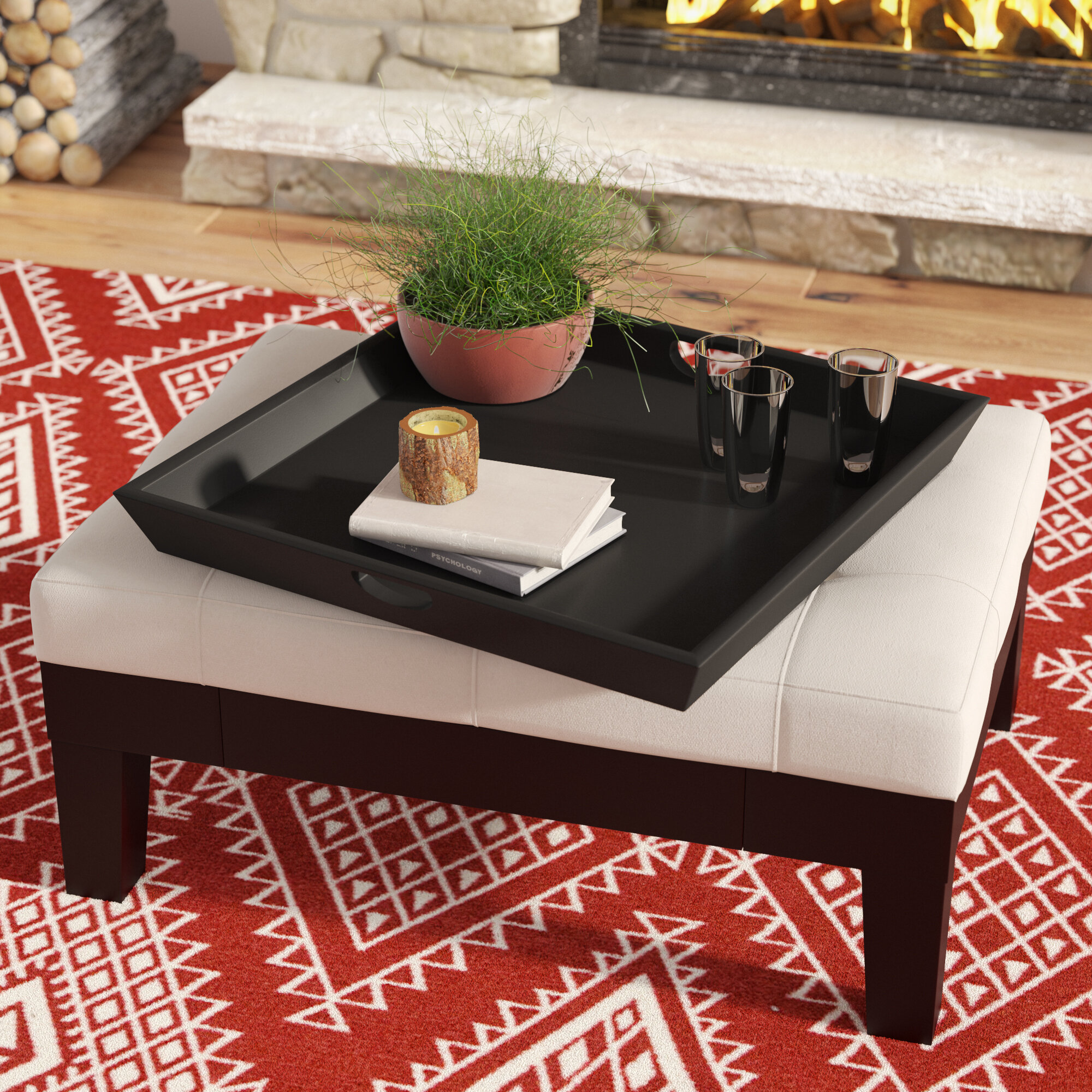 Superb Ottoman Serving Tray Bralicious Painted Fabric Chair Ideas Braliciousco