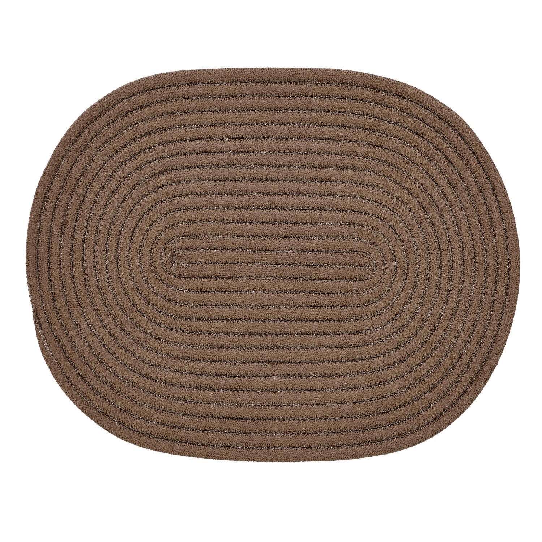 Better Trends Springy Hand Braided Chocolate Area Rug Wayfair