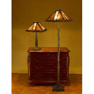 Astoria Grand Preston 2 Piece Table and Floor Lamp Set