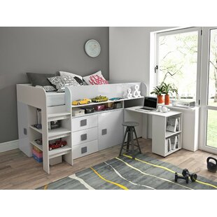 Ewing European Single Mid Sleeper Bed With Furniture Set By Isabelle & Max