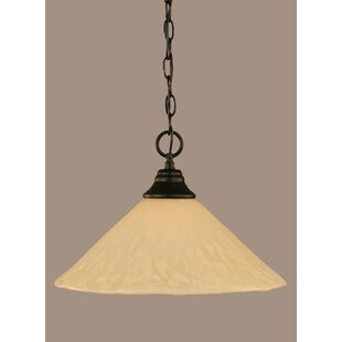 Pierro 1-Light Mini Pendant by Astoria Grand