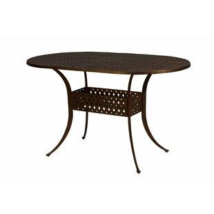 Aldrich Metal Bar Table by California Outdoor Designs