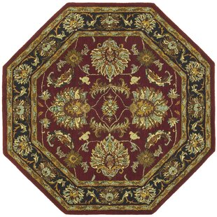 Bargain Traditions Agra Burgundy Rug By St. Croix