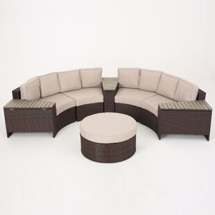 Bermuda 8 Piece Sectional Set with Cushions by Sol 72 Outdoor