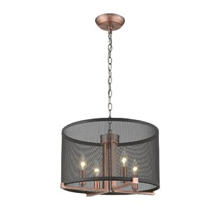 Ove Decors Lancelot III 4-Light Drum Pendant
