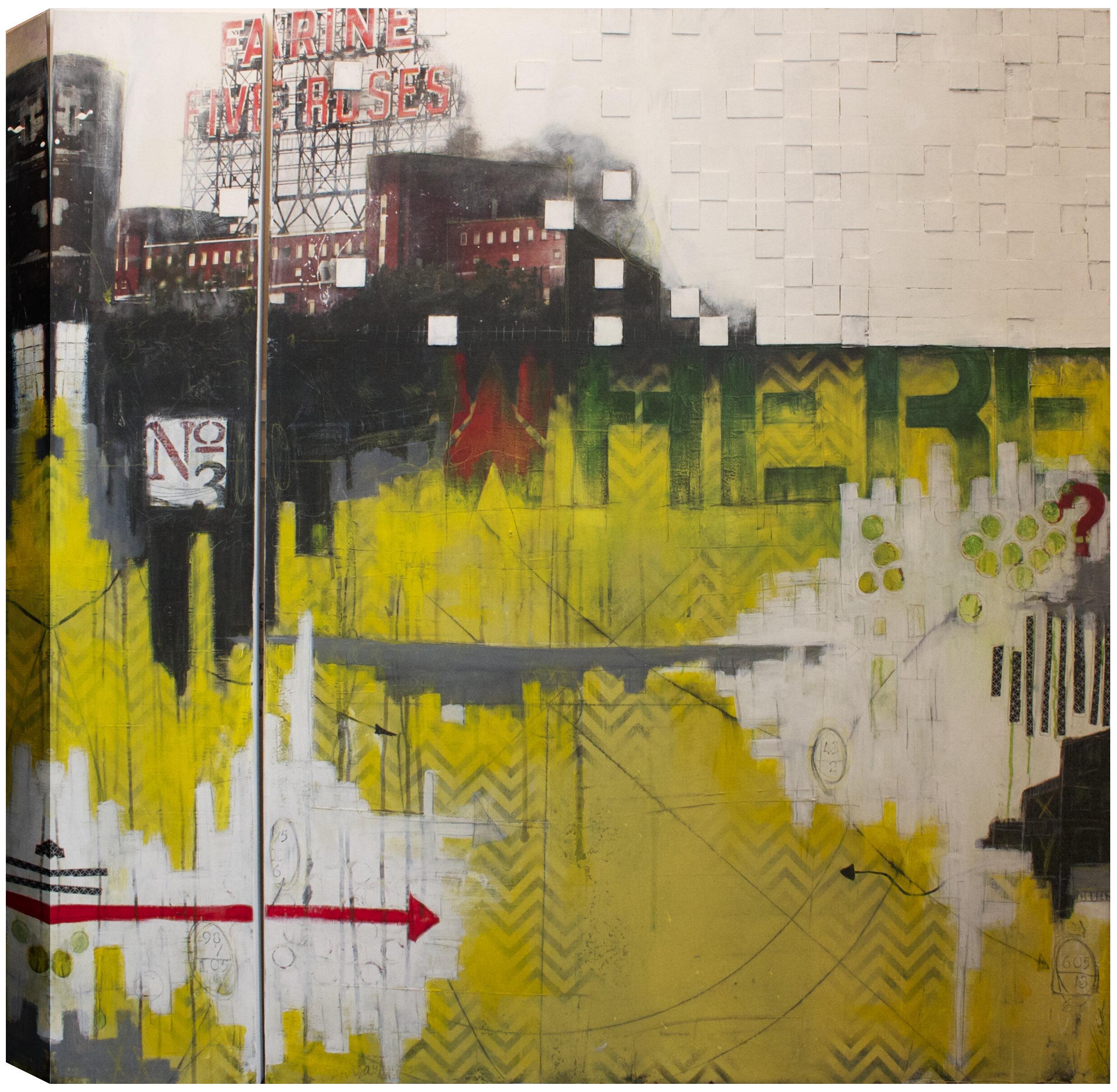 Hobbitholeco. Where? Here!\' by Christina Lovisa Wall Art on Wrapped ...