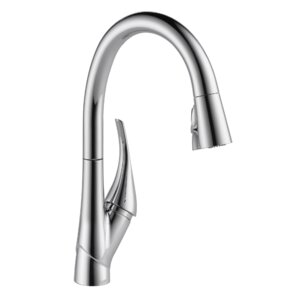 Esque Pull Down Touch Single Handle Kitchen Faucet