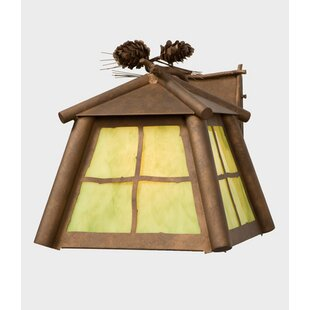 Compare Saranac 1-Light Outdoor Wall Lantern By Steel Partners