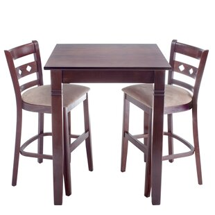 Red Barrel Studio Yablonski 3 Piece Pub Table Set