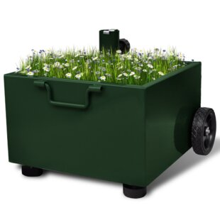 Free Standing Parasol Base with Planter