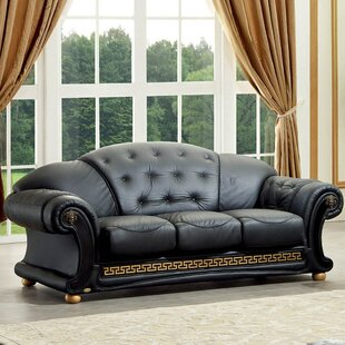 Alexzander Leather Sofa